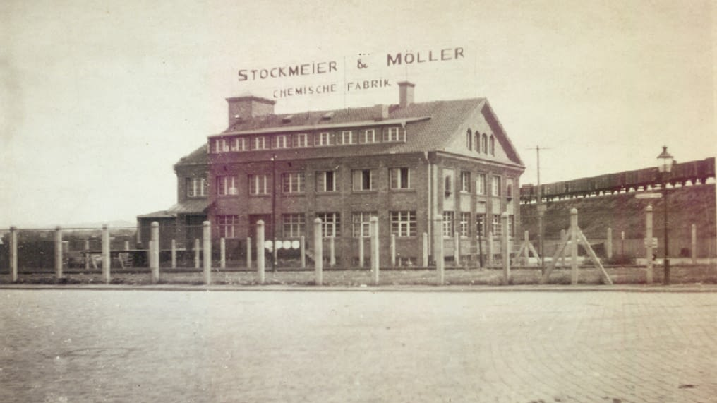 Historic picture of headquarters in Bielefeld