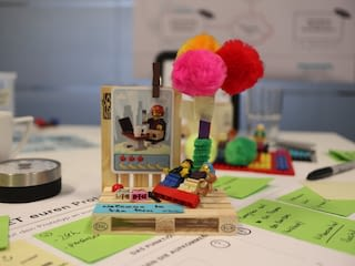 Detailansicht eines Models aus dem Open Innovation Workshop