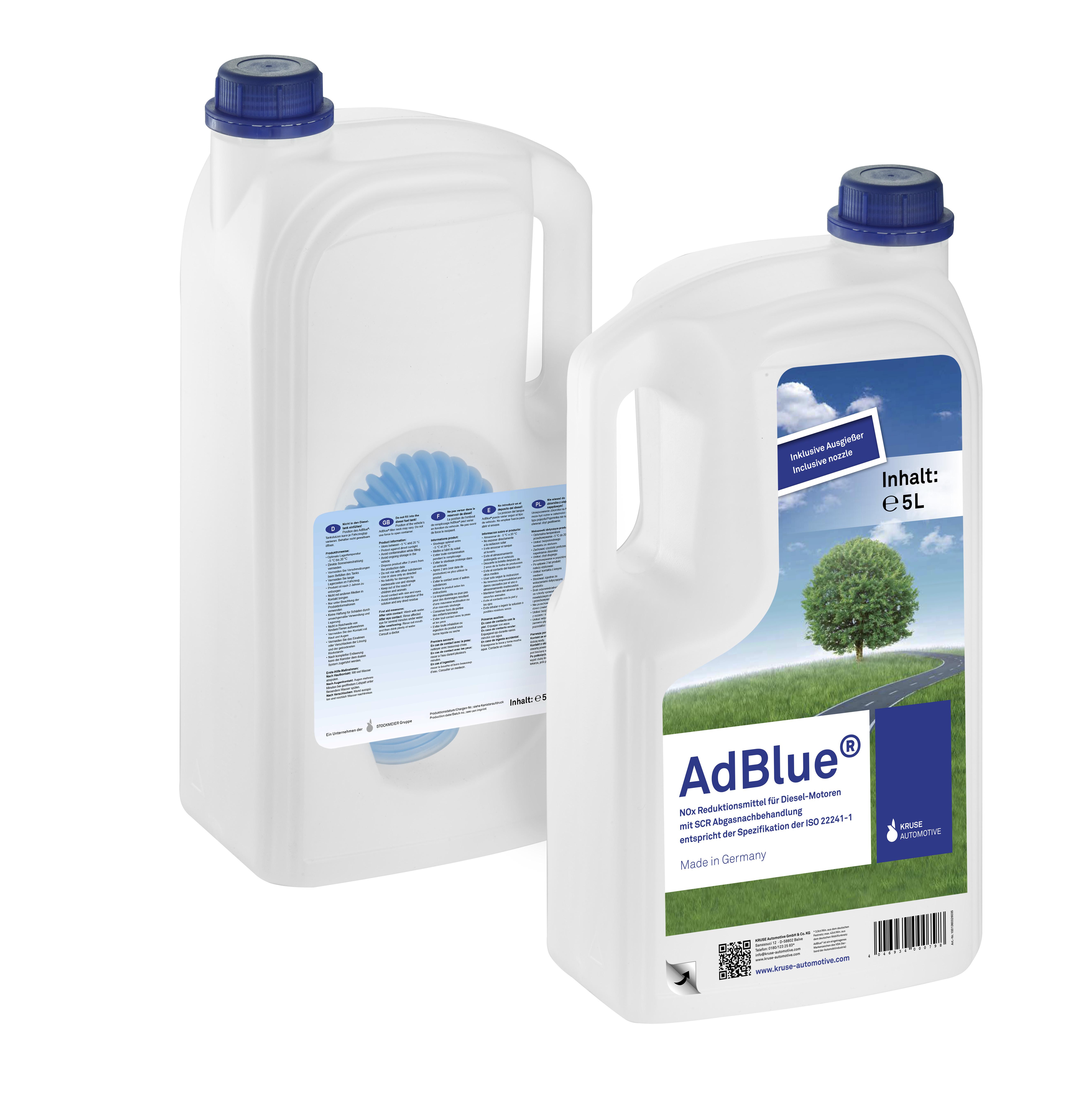 Easy handle bottle 5 litre AdBlue®