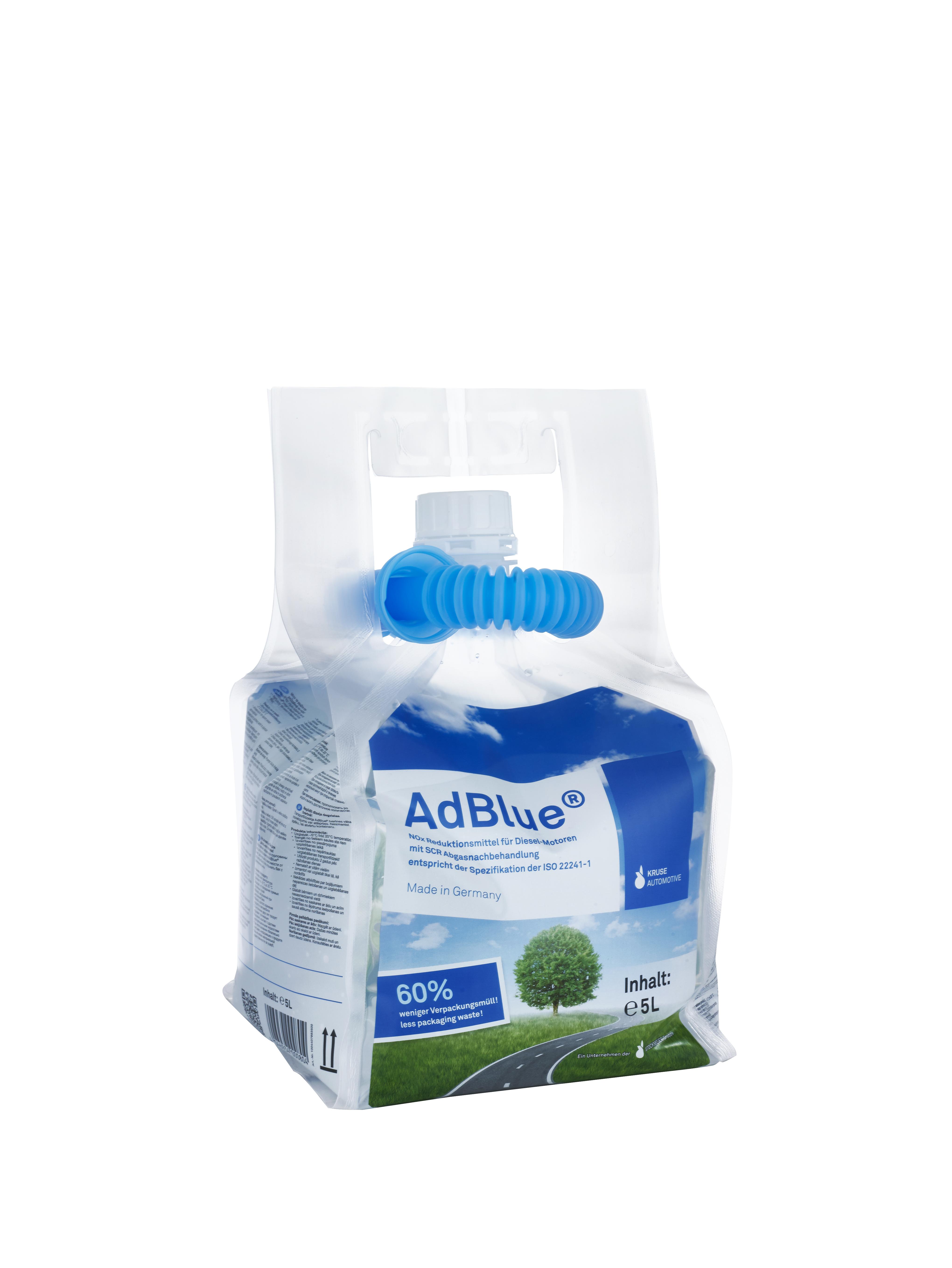 Standbodenbeutel 5 Liter AdBlue®