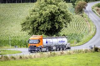 AdBlue Roadtanker for bulk delivery