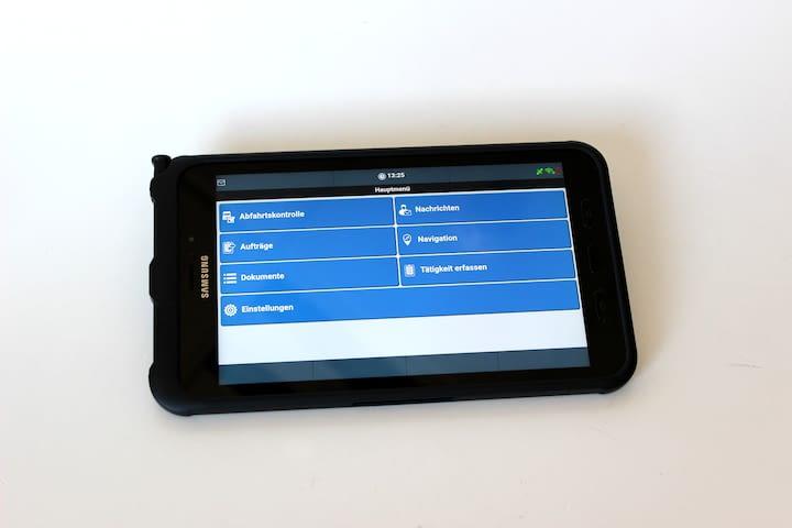 Tablet für Digital Signing