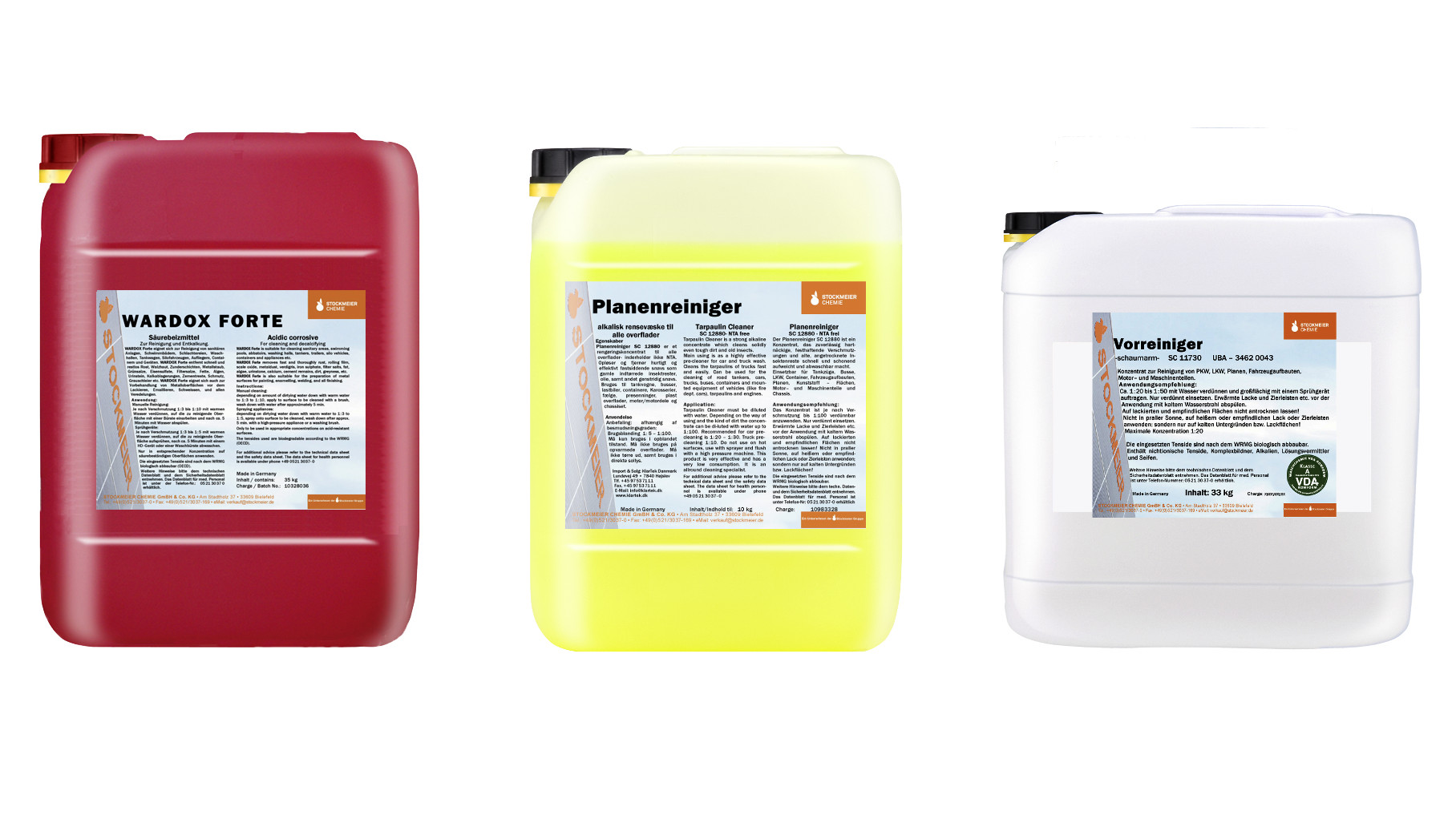 Products for Truck Wash