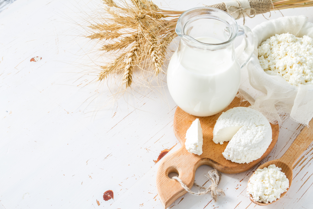 Fresh dairy products (Milk and Cheese)