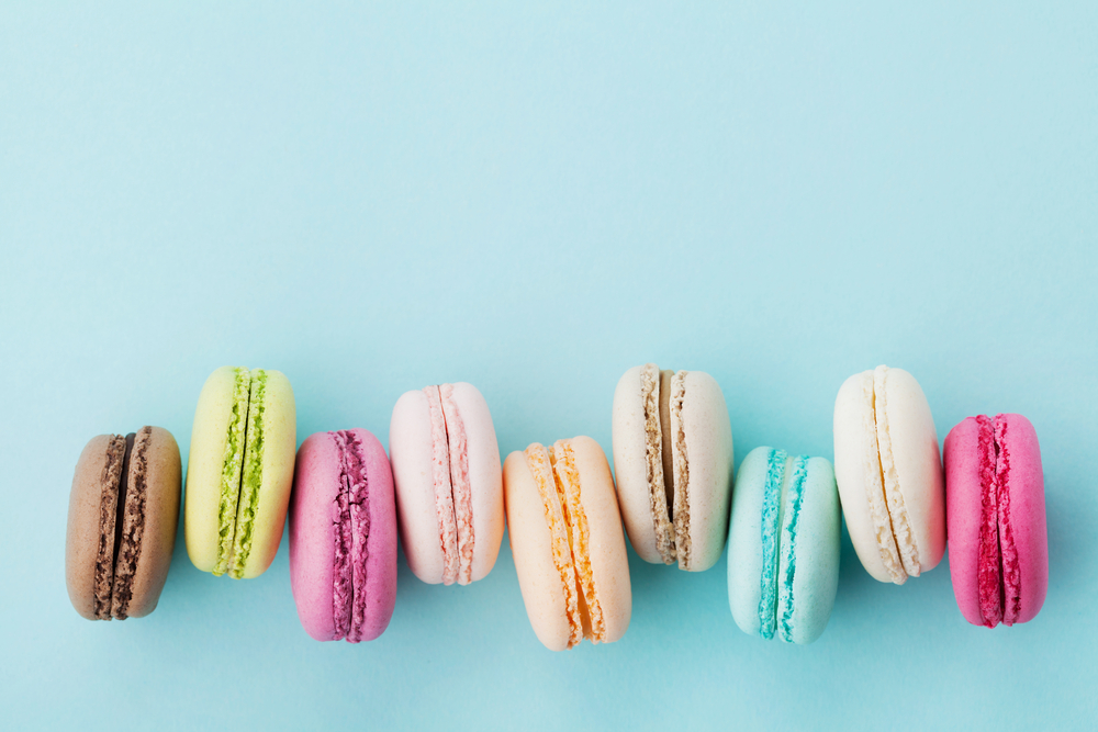 Colored Macarons