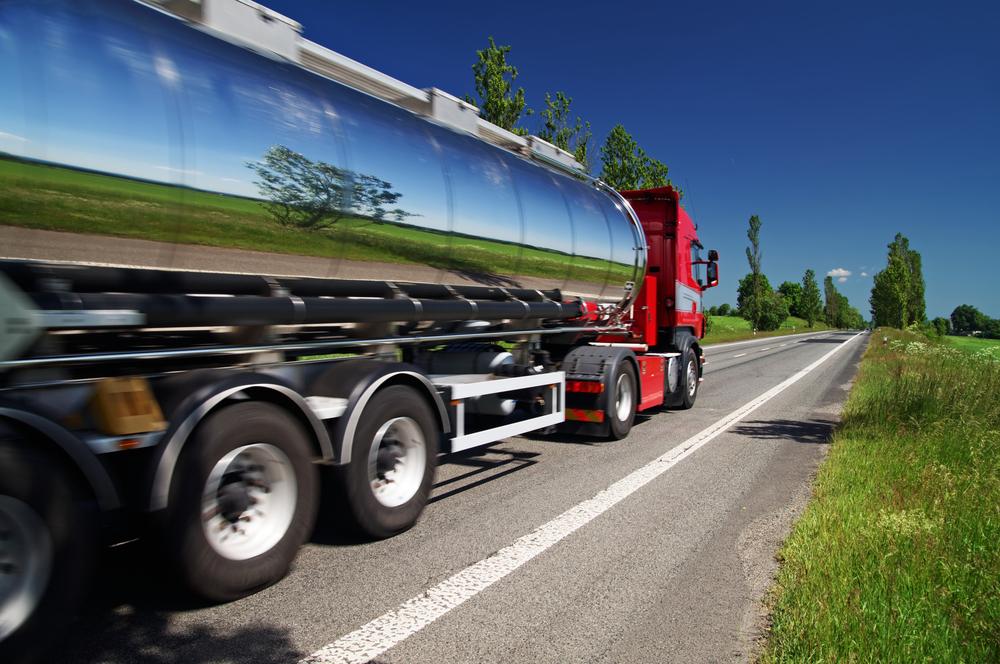 Shiny Road Tanker