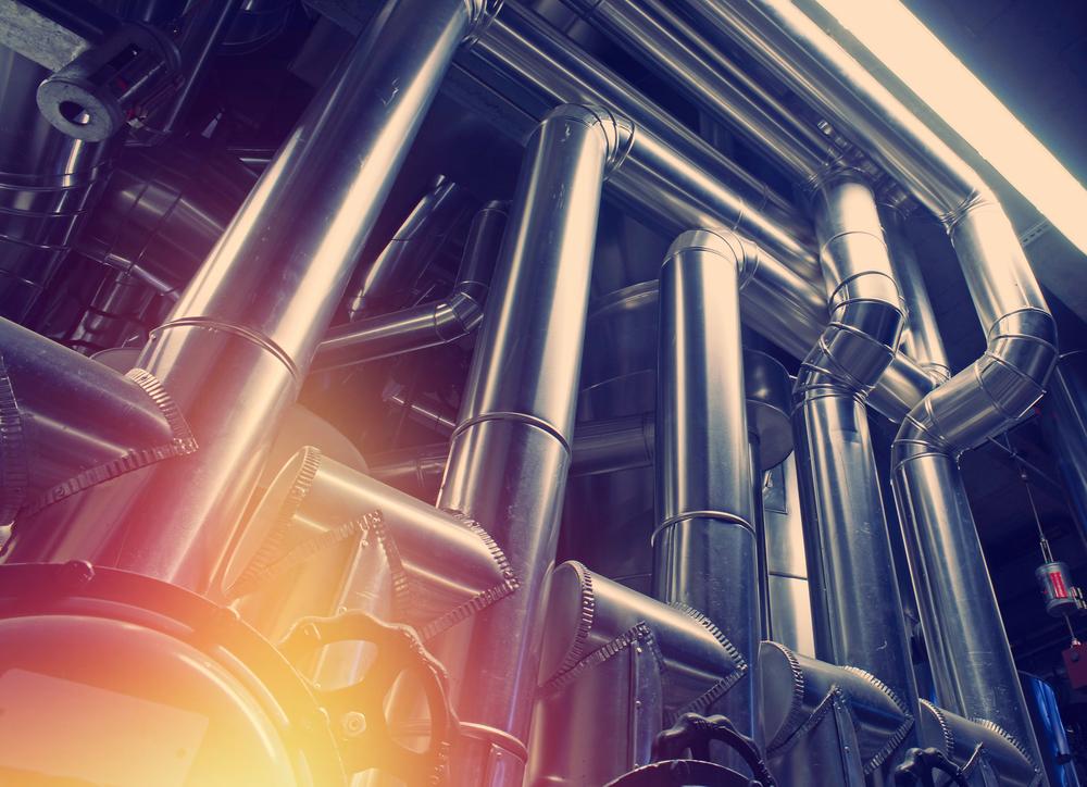 Stahlrohre für Lohnproduktion